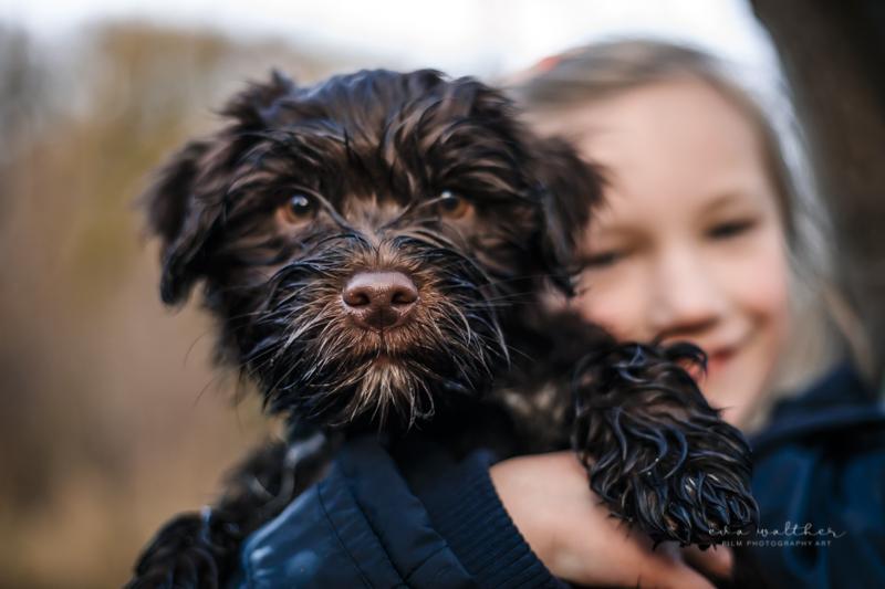 familiefotografering-hund-og-datter