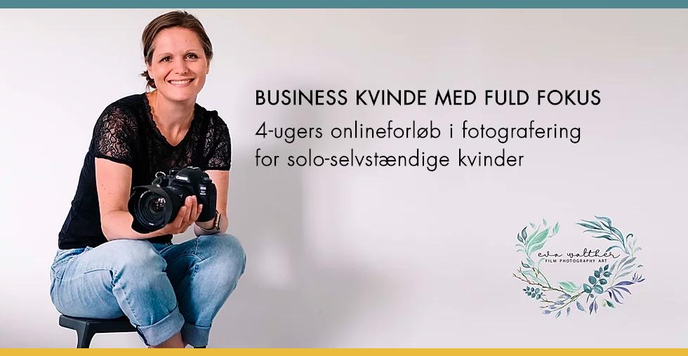 fotokursus-business-kvinde-med-fuld-fokus
